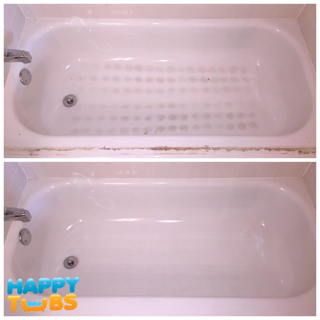 Gorgeous Bathtub Restoration in Dallas, TX - Happy Tubs Bathtub Repair