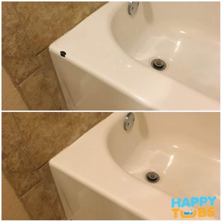 Bathtub Chip Repair In Celina Tx Happy Tubs Bathtub Repair