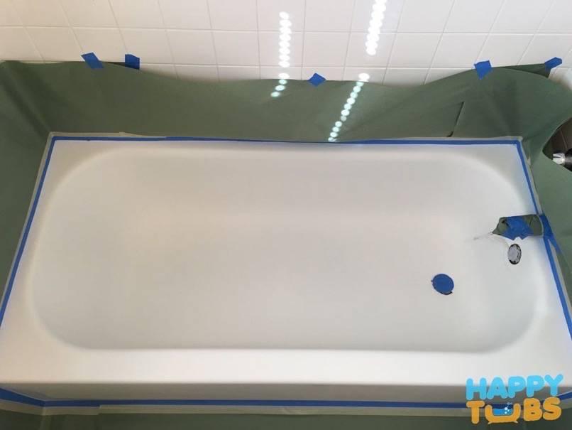 bathtub masking