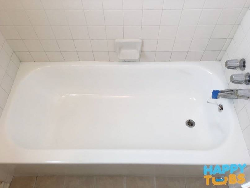 tile baths refinishing aarco bathtub before and repaint