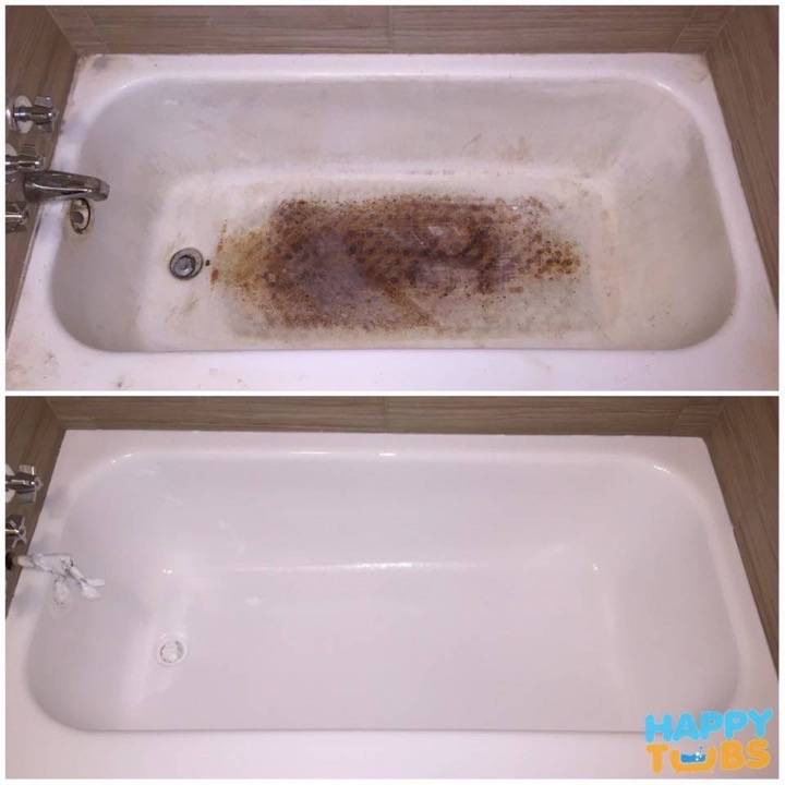 bathtub refinishing in fort worth, tx - happy tubs