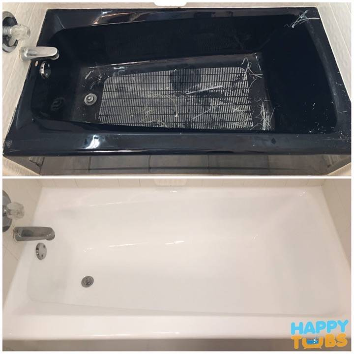 Bathtub Refinishing in Denton, TX