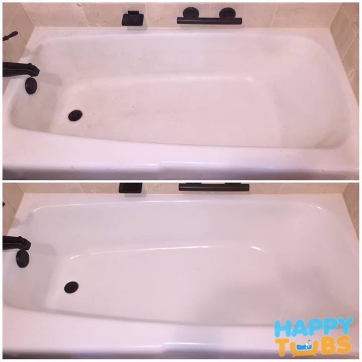 Bathtub Restoration in McKinney, TX