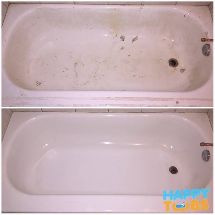 Bathtub Restoration in North Dallas, TX
