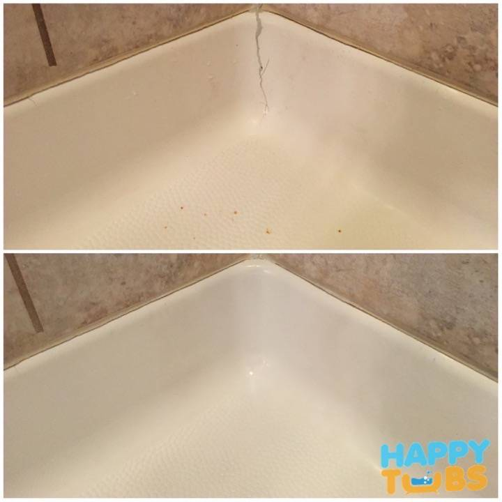 Shower Crack Repair in Frisco, TX