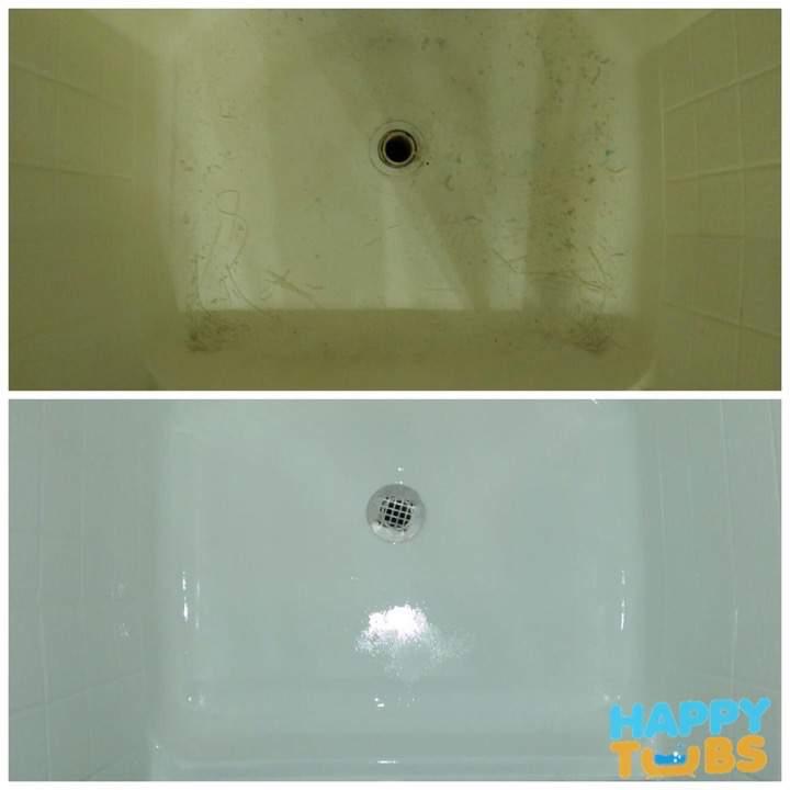 Shower Refnishing - Happy Tubs Shower Refinishing