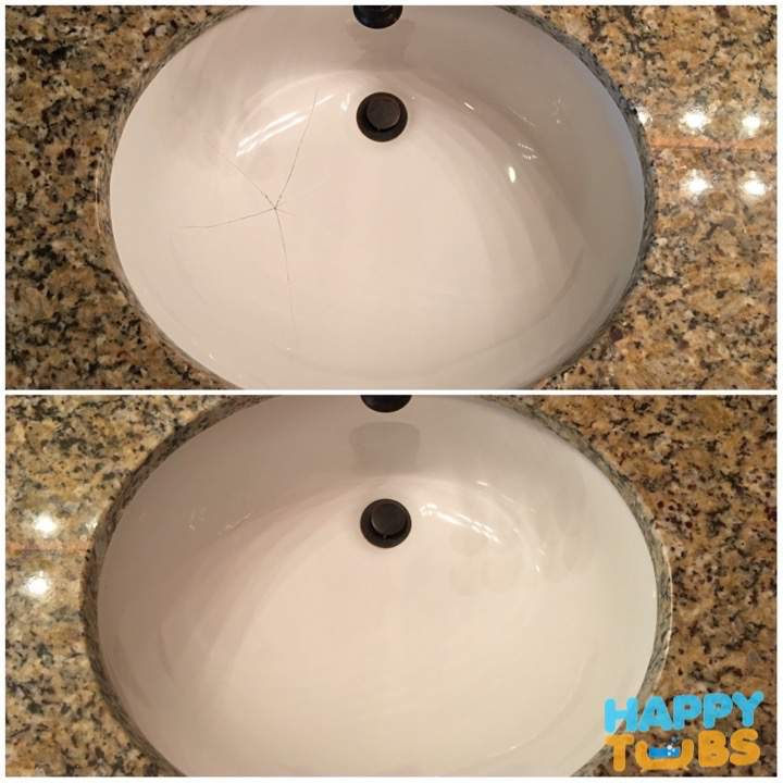 Sink Crack Repair in Plano, TX
