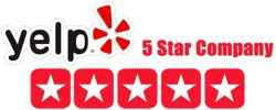 Happy Tubs 5 Star Yelp Rating