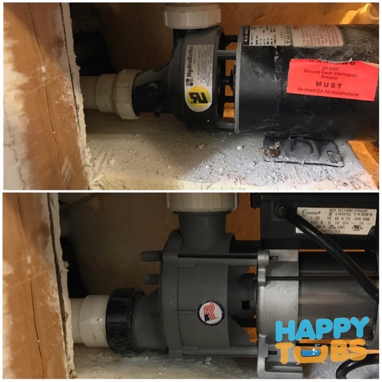 Jetted Tub Pump Repair