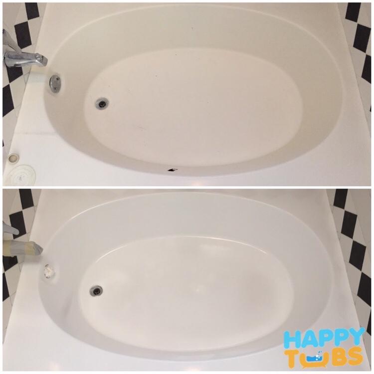 Bathtub Hole Repair In Plano Tx Happy Tubs Bathtub Repair