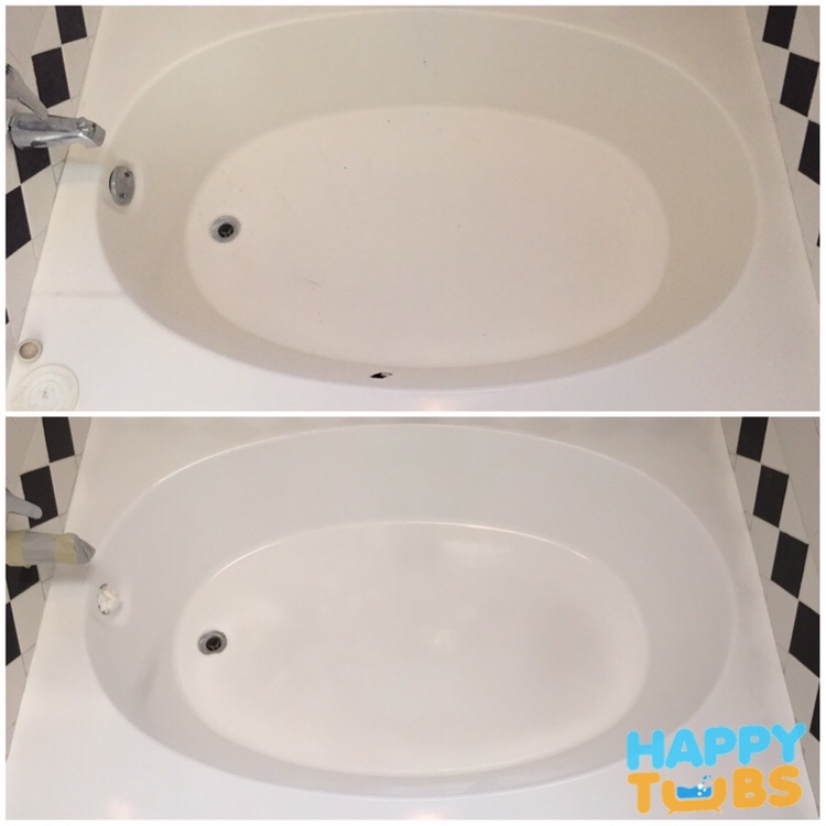 Bathtub Hole Repair in Plano, TX