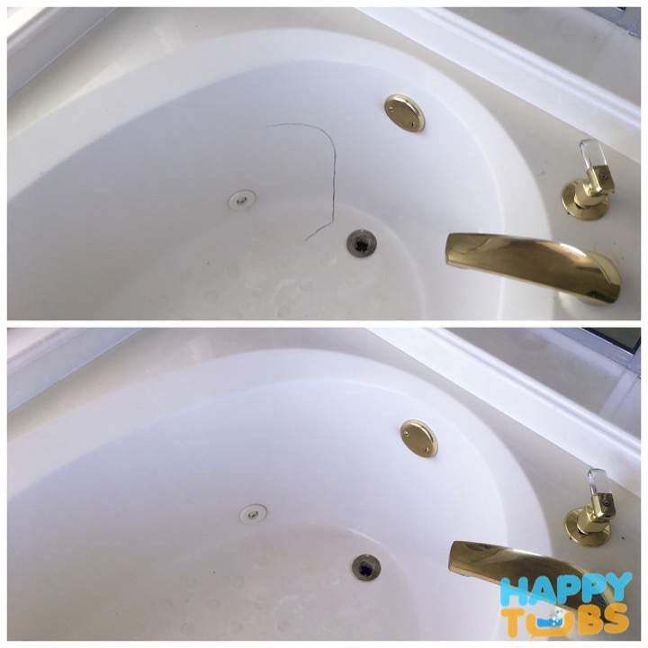 Find Bathtub Refinishing Companies Near Me: Bathtub Crack Repair In Frisco, TX