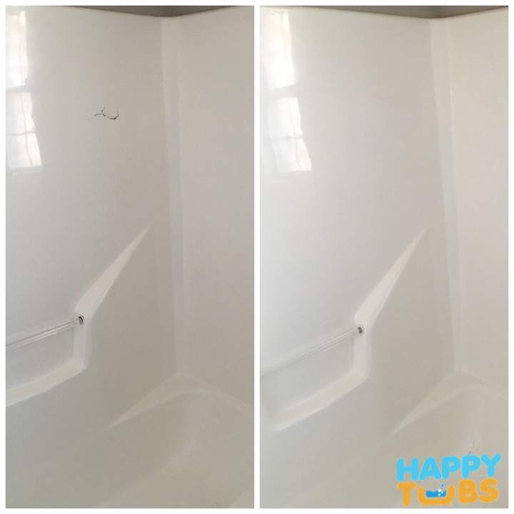 Find Bathtub Refinishing Companies Near Me: Shower Wall Crack Repair In Plano, TX